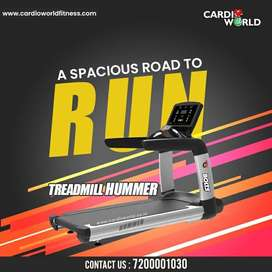 Grab the New year offer on Commercial Treadmill with 250 kg user weigh