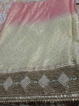 Once used party wear saree