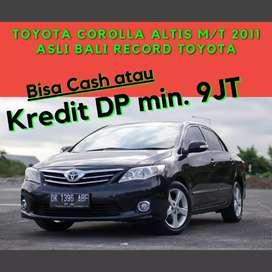 Toyota Corolla Altis MT Asli Bali Service Record Toyota