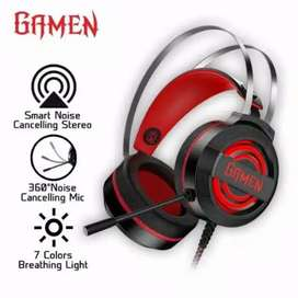 Headphone Gaming HP GAMEN GH1100 Wired Headset Gaming Black 7 Color
