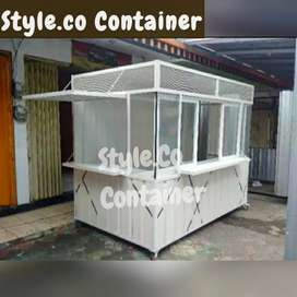 BOOTH CONTAINER CAFE | CONTAINER USAHA | CONTAINER ANGKRINGAN KOPI