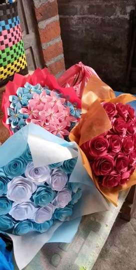 Jual bunga kertas di Denpasar untuk kado, hadiah valentine, souvenir