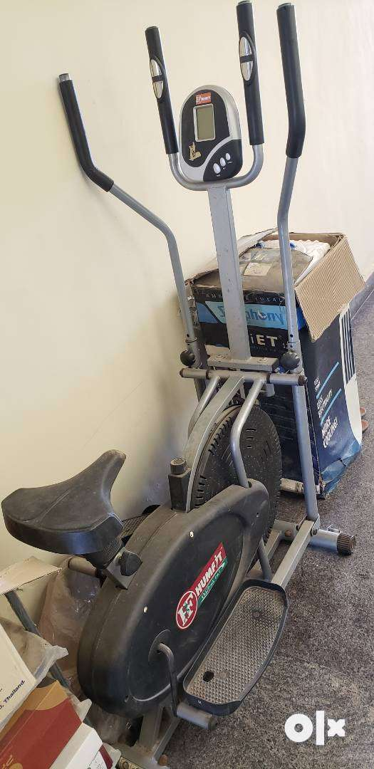Exercise cross trainer 2 in 1 0