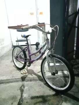 Sepeda ukuran 18 siap goes