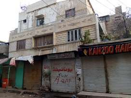 130 Square Yards Corner House Available for Sale in Saudabad, Karachi.