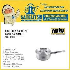 SAUCE POT/PANCI MASAK STAINLESS STEEL MUTU SCP-280L