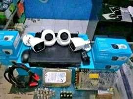 Layanan pasang cctv kamera 2 MP full HD// online via HP