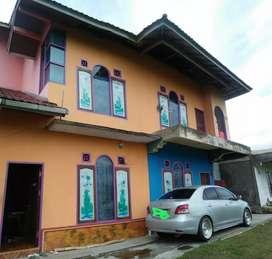Disewakan rumah 1 kamar tepi jalan raya tigobaleh