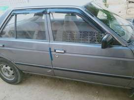 Nissan sunny 87 registered in Karachi with return file
