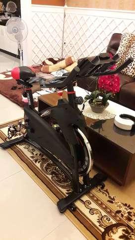 Sepeda fitnes murah spining bike