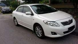 Toyota corolla GLI get on limited 5% Markup offer on installment plan