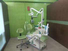 Dental clinic with deposit