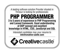 WANTED PHP PROGRAMMER