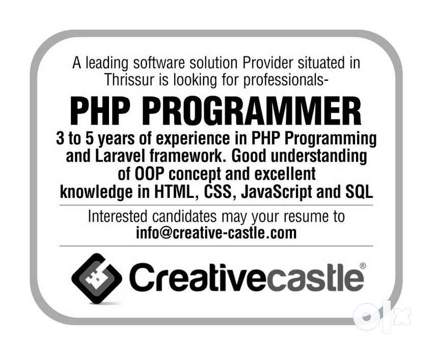 WANTED PHP PROGRAMMER 0