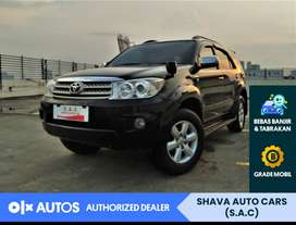 [OLX Autos] Toyota Fortuner G AT tahun 2008 low km #Shava