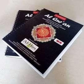 Braille Produk terkini,,,Alquran braile 30 juz lengkap dengan terjemah