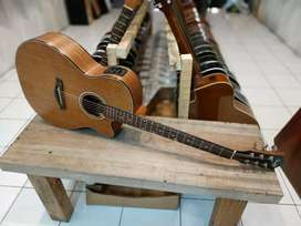 Gitar Akustik Elektrik gwc cowboy tuner