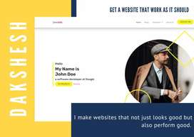 Website Creation   I will make secure, fast and expandable website