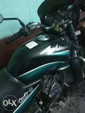 Hero Honda ACHIEVER ( GREEN and Black Model)
