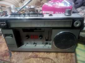 Sanyo cassette recorder made in Japan