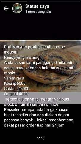 Roti maryam varian rasa matang/mentah
