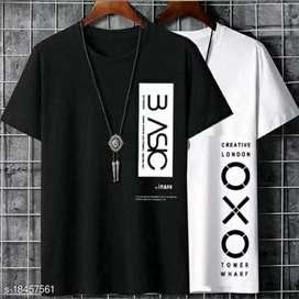 Trendy Latest Men Tshirts  Fabric: Cotton Sleeve Length: Short