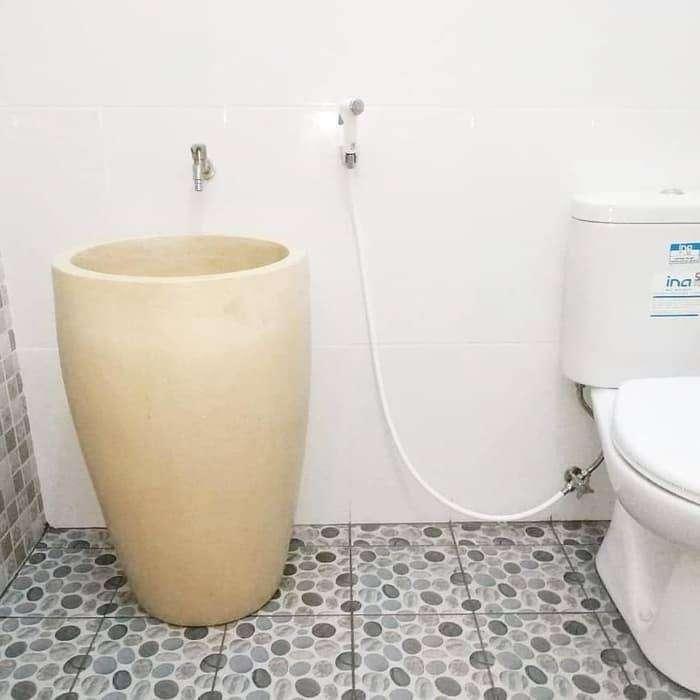 Bak mandi Gelas Terbuat dari Serbuk marmer 0