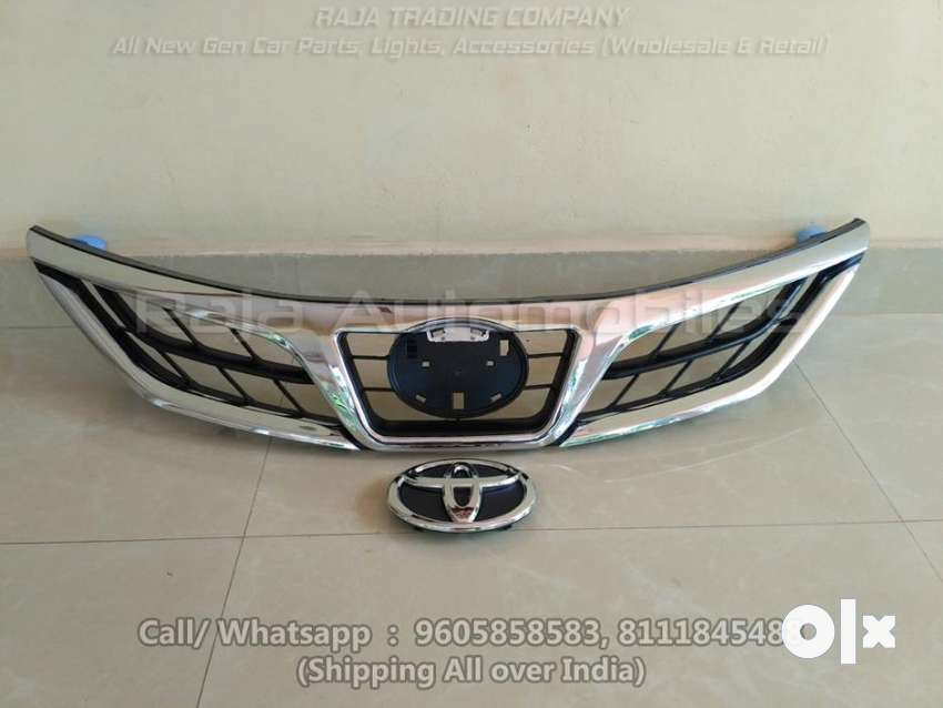 Toyota Etios New Model Front Grill with Logo 0