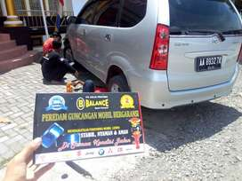 BALANCE peredam guncangan, bantu kinerja SHOCK mobil agar Lebih STABIL