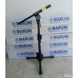 STAND MIC/ tiang mic maruni pendek free mic holder jepit