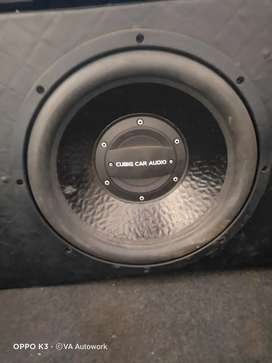 Subwoofer cubig 12 +power rhytm x cubig