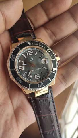 Gc Guess collection Swiss made men's watch