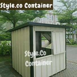 BOOTH SEMI CONTAINER | CONTAINER CUSTOM ANGKRINGAN | CONTAINER CAFE