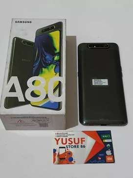 Samsung A80 ram 8/128 GB fulsed garansi 7 bulan