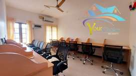 Fully furnished office space for rent Kowdiar