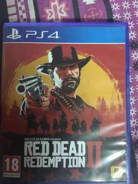 Red dead redemtion 2 ps4 game