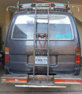 This is Toyota Hi-Ace.With Diesel Engine and in very good condition
