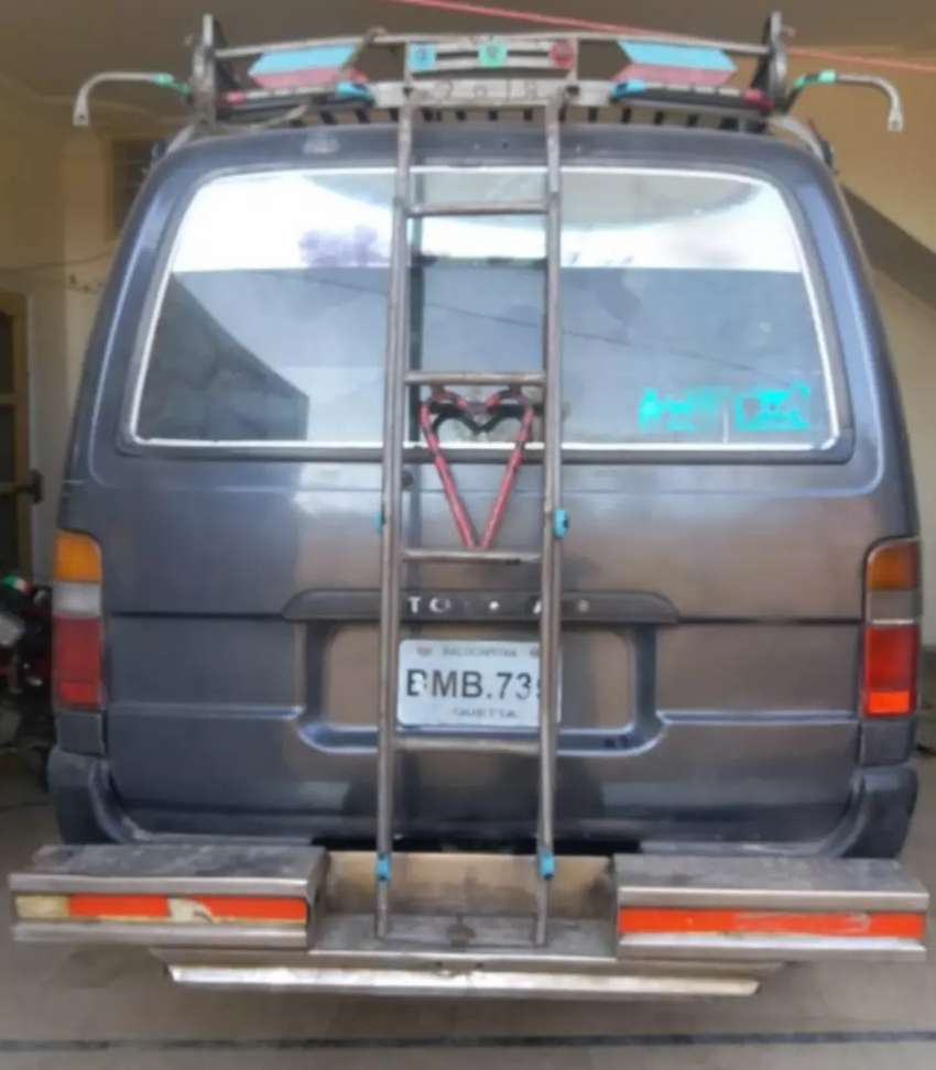 This is Toyota Hi-Ace.With Diesel Engine and in very good condition 0