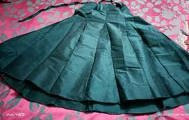 Beautiful shiny long gheera skirt with excellent fabric