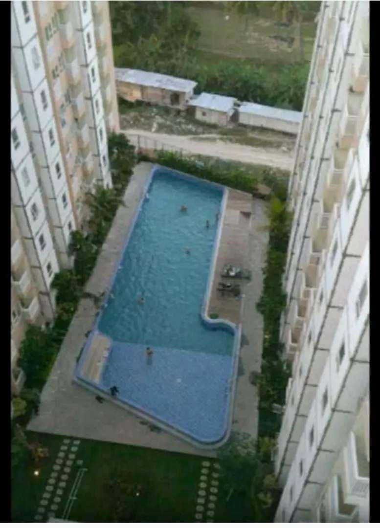 Apartemen Malioboro City Lantai 7 hadap kolam renang kosongan
