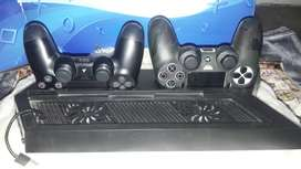 PS 4 Slim 1 TB Jet Black Jual Cepat!!!