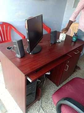 Computer ,CPU, monitor