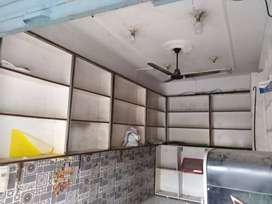 120 sqft shop on main divider Road bhootnath Mkt for rent in prime loc