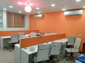 2 cabin,18 work station,  waiting Area for rent in sector-16 Noida