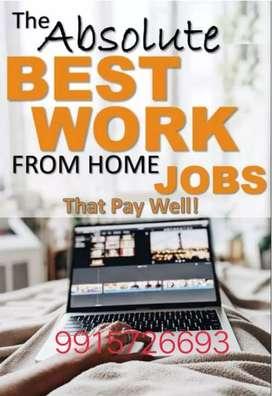 Earn Regular income online data entry work