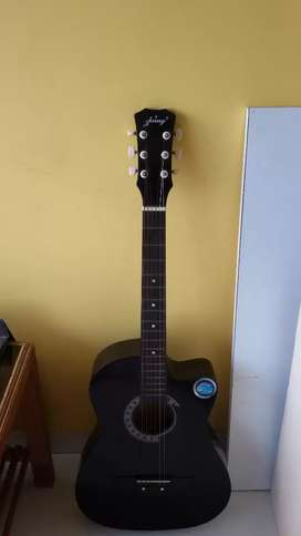 Guitar black colour