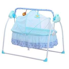 Baby Crib With Electric Swing