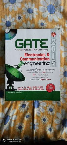 GATE preparation book COMBO offer