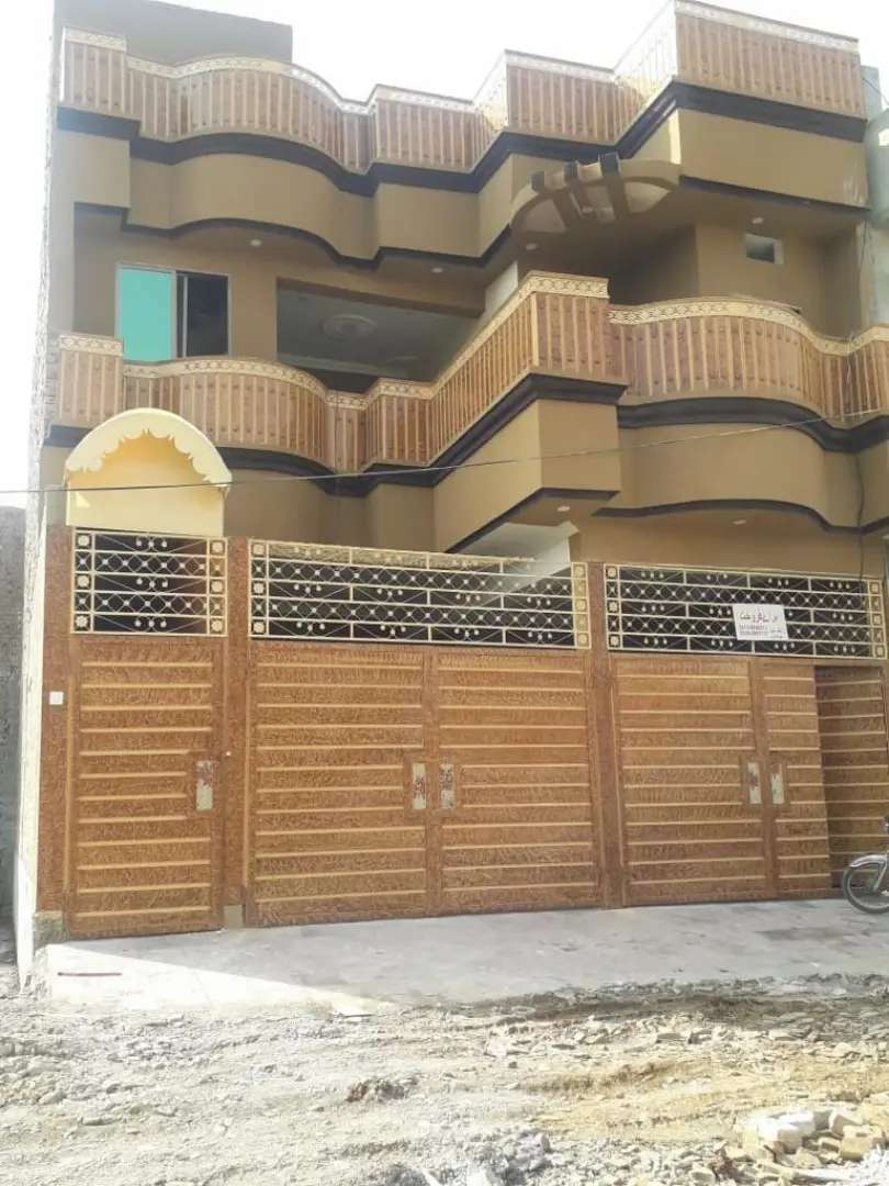 5 marla double story house for sale on warsak road. 0