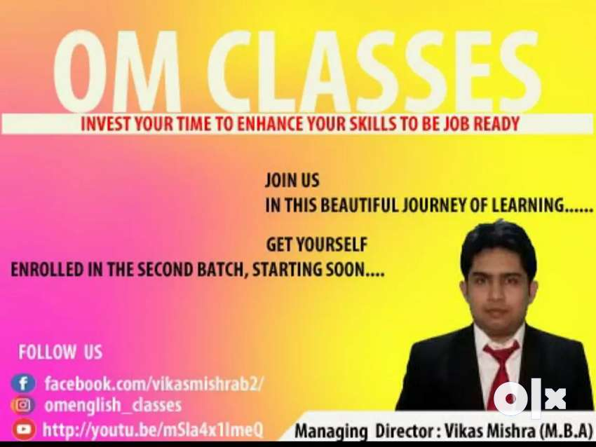 Learn spoken English & Home tuition also available 0